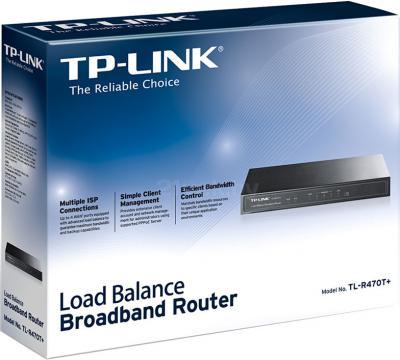 Маршрутизатор TP-Link TL-R470T+ - упаковка
