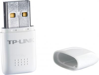Беспроводной адаптер TP-Link TL-WN723N - со снятым колпачком