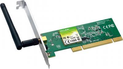 Беспроводной адаптер TP-Link TL-WN751ND - вполоборота