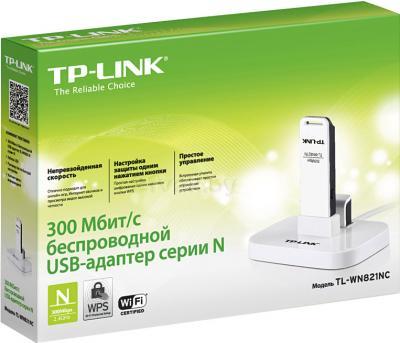 Беспроводной адаптер TP-Link TL-WN821NC - упаковка