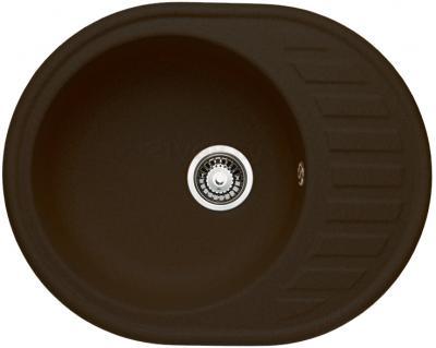 Мойка кухонная Granicom G015-02 (шоколад) - реальный цвет модели может немного отличаться от цвета, представленного на фото