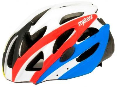 Защитный шлем Meteor MV29 (M/L, Red-Blue) - общий вид