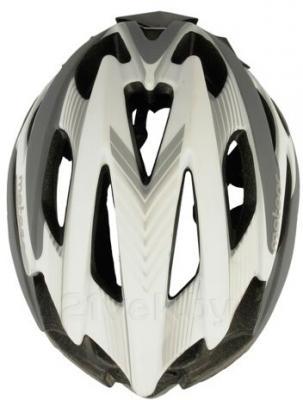 Защитный шлем Meteor MV29 (M/L, серый) - вид сверху