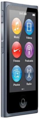 MP3-плеер Apple iPod nano 16Gb ME971RU/A (серый) - общий вид