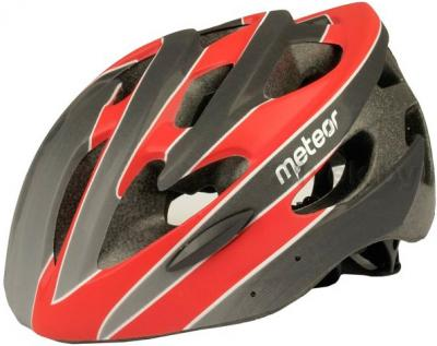 Защитный шлем Meteor MV30 (M/L, Red) - общий вид