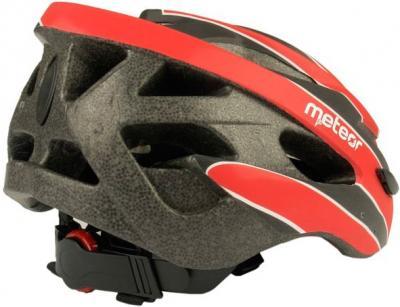 Защитный шлем Meteor MV30 (M/L, Red) - вид сзади