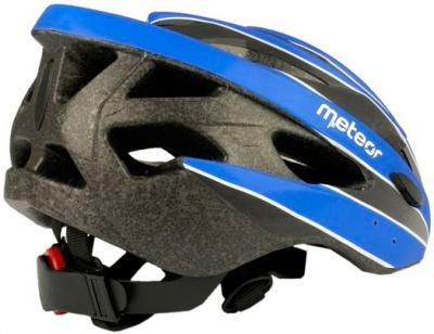 Защитный шлем Meteor MV30 (M/L, Blue) - вид сзади