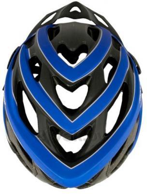 Защитный шлем Meteor MV30 (M/L, Blue) - вид сверху