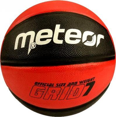 Баскетбольный мяч Meteor Grid 07057 (Red) - общий вид
