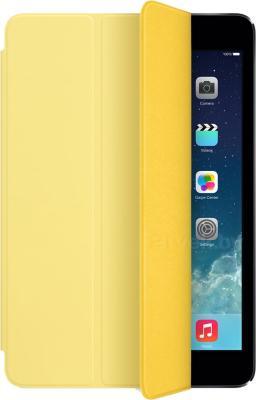 Чехол для планшета Apple iPad mini Smart Cover MF063ZM/A (желтый) - общий вид
