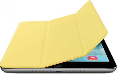 Чехол для планшета Apple iPad mini Smart Cover MF063ZM/A (желтый) - с черным айпадом