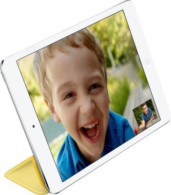Чехол для планшета Apple iPad mini Smart Cover MF063ZM/A (желтый) - вполоборота