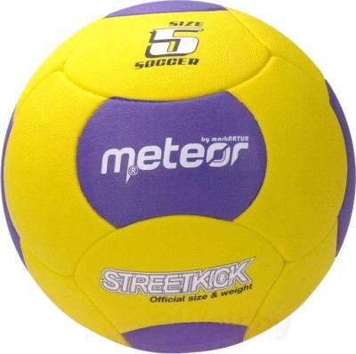Футбольный мяч Meteor Asfalt Streetkick 00033 (Yellow) - общий вид