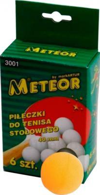 Мячи для настольного тенниса Meteor 3002 (Orange) - общий вид