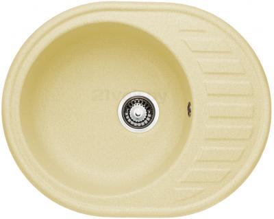 Мойка кухонная Granicom G015-06 (шампань) - реальный цвет модели может немного отличаться от цвета, представленного на фото