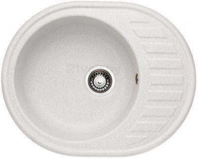 Мойка кухонная Granicom G015-08 (жасмин) - реальный цвет модели может немного отличаться от цвета, представленного на фото
