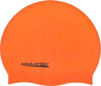 Шапочка для плавания Aqua Speed Junior 129 (Orange) - общий вид