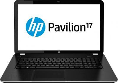 Ноутбук HP Pavilion 17-e072sr (F2U31EA) - фронтальный вид
