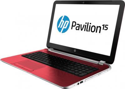 Ноутбук HP Pavilion 15-n291er (G5E40EA) - общий вид