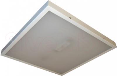 Офисный светодиодный светильник БЕЛВАР Оптиум 02-84х0.36-01 - выключенный