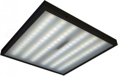 Офисный светодиодный светильник БЕЛВАР Оптиум 02-84х0.36-01 - включенный