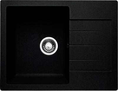 Мойка кухонная Granicom G016-01 (антрацит) - общий вид