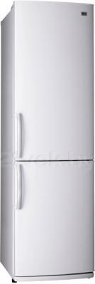 Холодильник с морозильником LG GA-M409UCA - общий вид