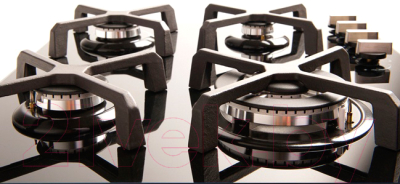 Газовая варочная панель Rihters H6-127 (черный)