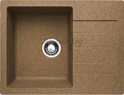 Мойка кухонная Granicom G016-03 (бренди) - реальный цвет модели может немного отличаться от цвета, представленного на фото