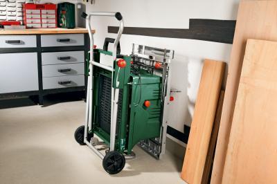 Стол для торцовочных пил Bosch PTA 2000 (0.603.B05.300) - хранение