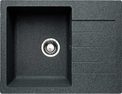 Мойка кухонная Granicom G016-04 (серый) - реальный цвет модели может немного отличаться от цвета, представленного на фото