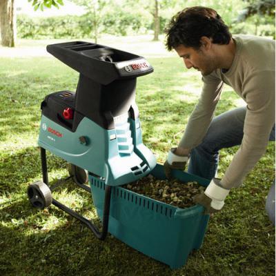 Садовый измельчитель Bosch AXT 25 TC (0.600.803.300) - ящик для отработки