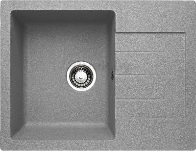 Мойка кухонная Granicom G016-05 (серебристый) - реальный цвет модели может немного отличаться от цвета, представленного на фото