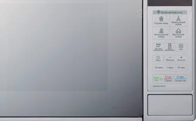 Микроволновая печь LG MS20R44DAR - панель управления