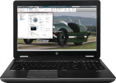 Ноутбук HP ZBook 15 (E9X18AW) - фронтальный вид