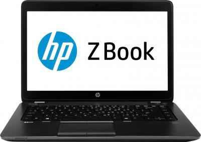 Ноутбук HP ZBook 14 (F0V02EA) - фронтальный вид