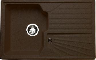 Мойка кухонная Granicom G014-02 (шоколад) - реальный цвет модели может немного отличаться от цвета, представленного на фото