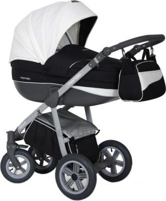 Детская универсальная коляска Expander Mondo Grey Line 2 в 1 (Black-White) - общий вид