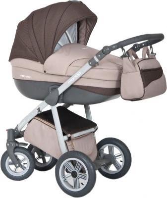 Детская универсальная коляска Expander Mondo Grey Line 2 в 1 (Chocolate) - общий вид