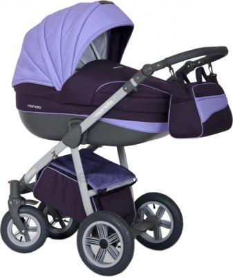 Детская универсальная коляска Expander Mondo Grey Line 2 в 1 (Lila) - общий вид