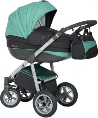 Детская универсальная коляска Expander Mondo Grey Line 2 в 1 (Malachit) - общий вид