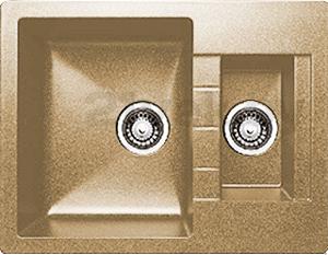 Мойка кухонная Granicom G017-03 (бренди) - реальный цвет модели может немного отличаться от цвета, представленного на фото
