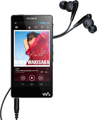 MP3-плеер Sony NWZ-F886B - общий вид