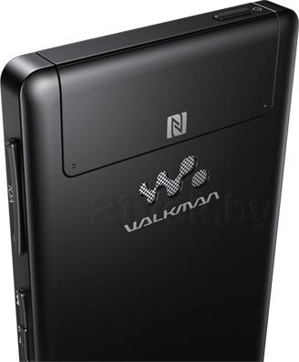 MP3-плеер Sony NWZ-F886B - вид сзади