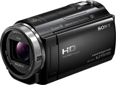 Видеокамера Sony HDR-CX530EB - общий вид