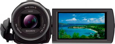 Видеокамера Sony HDR-CX530EB - вид спереди