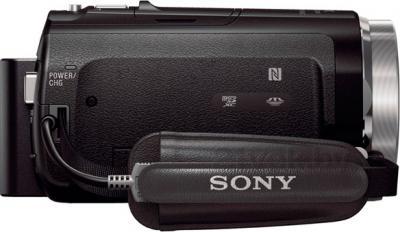 Видеокамера Sony HDR-CX530EB - вид сбоку