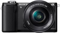 Беззеркальный фотоаппарат Sony Alpha ILCE-5000L (черный) -