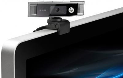 Веб-камера HP HD 3300 (A5F63AA) - вариант крепления