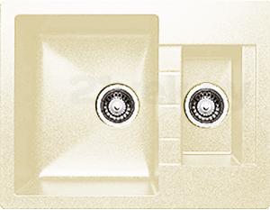 Мойка кухонная Granicom G017-06 (шампань) - реальный цвет модели может немного отличаться от цвета, представленного на фото